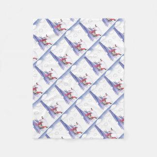 Cobertor De Velo Papai noel do Xmas de ShardArt por Tony Fernandes