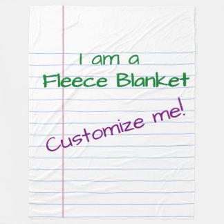 Cobertor De Velo Papel gigante - cobertura do velo