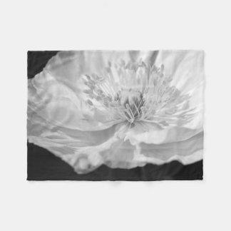 Cobertor De Velo Papoila branca