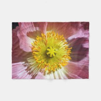 Cobertor De Velo Papoila cor-de-rosa