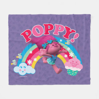 Cobertor De Velo Papoila dos troll   - Yippee