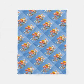 Cobertor De Velo Papoilas