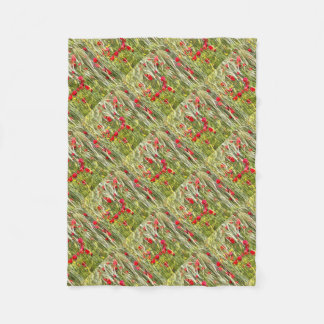 Cobertor De Velo Papoilas de milho vermelhas