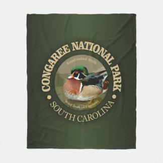 Cobertor De Velo Parque nacional de Congaree (pato de madeira)