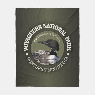 Cobertor De Velo Parque nacional de Voyageurs (mergulhão-do-norte)