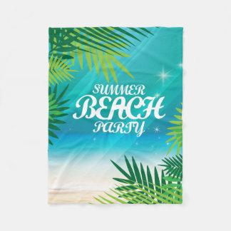 Cobertor De Velo Partido da praia do verão