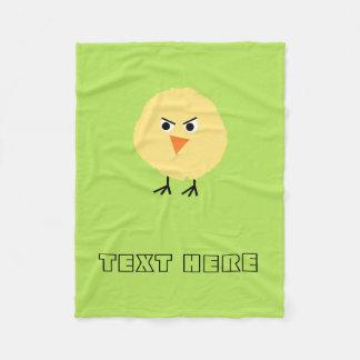 Cobertor De Velo Pássaro muito virado