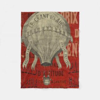 Cobertor De Velo Passeio do Ballon do ar quente de Steampunk do