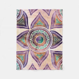 Cobertor De Velo Pastel translúcido bonito do símbolo de Yin yang