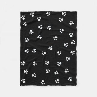 Cobertor De Velo Patas da panda