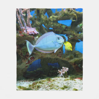 Cobertor De Velo Peixes do azul do mar