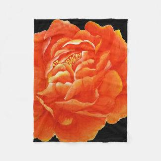 Cobertor De Velo Peônia vermelha - trabalhos de arte originais do