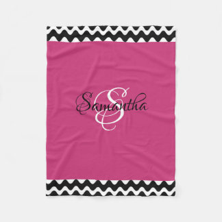 Cobertor De Velo Personalizado com seu monograma -