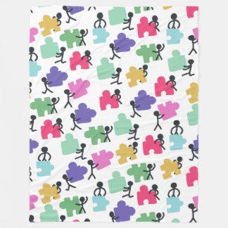 Cobertor De Velo pessoas autísticas da cobertura