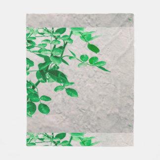 Cobertor De Velo Plantas sobre a foto da parede
