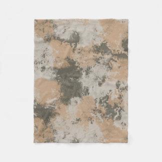 Cobertor De Velo Poça de lama abstrata