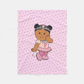 Cobertor De Velo Poder cor-de-rosa