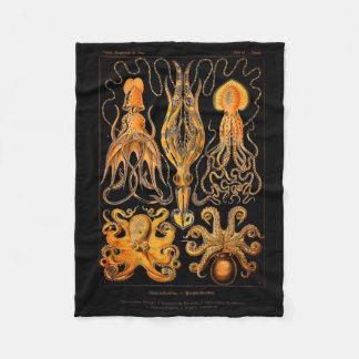 Cobertor De Velo Polvo e calamar do vintage