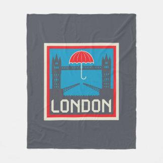 Cobertor De Velo Ponte de Londres com guarda-chuva