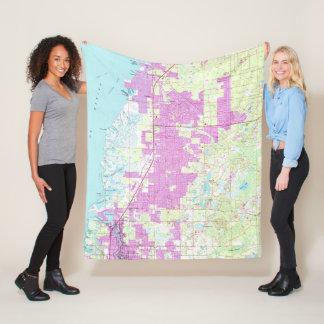 Cobertor De Velo Porto Richey & porto novo Richey Florida Mapa