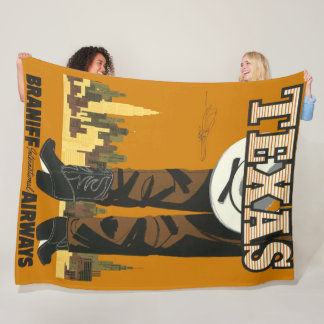 Cobertor De Velo Poster de viagens legal e na moda de Texas do