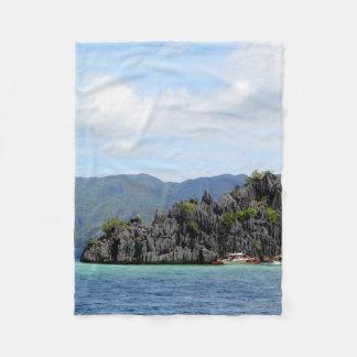 Cobertor De Velo Praia de Palawan