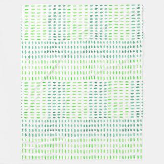 Cobertor De Velo Precipitado no lance verde do velo