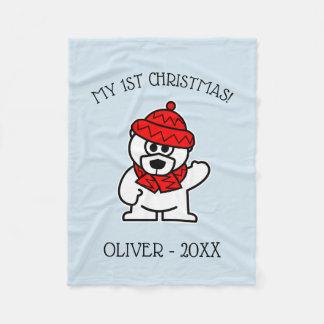Cobertor De Velo Presente de época natalícia da cobertura do velo