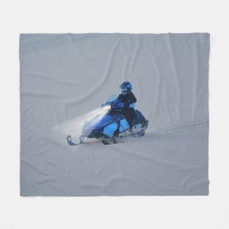 Cobertor De Velo Presente dos esportes de inverno da Neve-mobiler