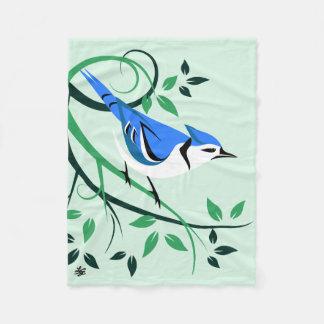 Cobertor De Velo Presentes estilizados de Jay azul