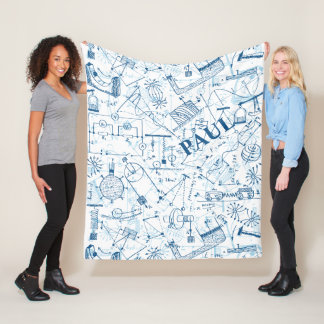 Cobertor De Velo Presentes personalizados da física para físicos