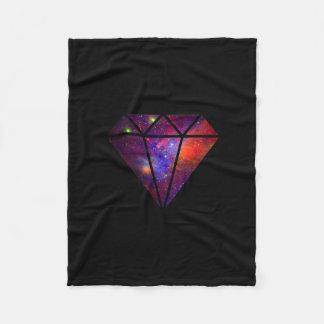 Cobertor De Velo preto cor-de-rosa colorido da nebulosa moderna