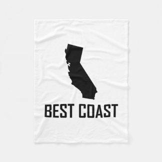 Cobertor De Velo Preto de Califórnia da costa oeste o melhor