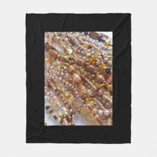 Cobertor De Velo Preto decorativo da cobertura do velo com