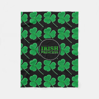 Cobertor De Velo Princesa irlandesa Dela dos trevos | do dia de St