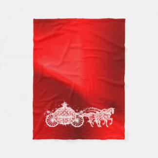 Cobertor De Velo Princesa vermelha Sparkly Treinamento & cavalos