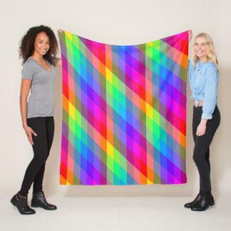 Cobertor De Velo Prismas espectrais do arco-íris colorido