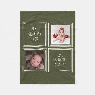 Cobertor De Velo Projete seus próprios personalizou 2 foto e texto