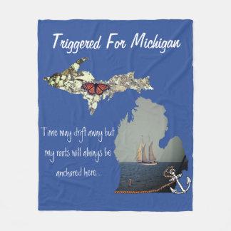 Cobertor De Velo Provocado para a cobertura do velo de Michigan