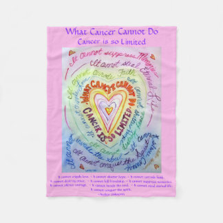 Cobertor De Velo Que cancer não pode fazer a cobertura de Chemo do