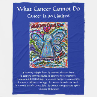 Cobertor De Velo Que cancer não pode fazer a cobertura do costume