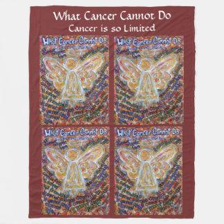 Cobertor De Velo Que cancer não pode fazer a cobertura do velo de