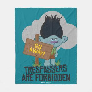 Cobertor De Velo Ramo dos troll | - os Trespassers são proibidos