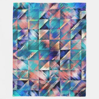 Cobertor De Velo Reflexões estruturais da turquesa
