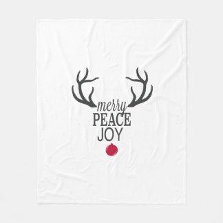 Cobertor De Velo Rena moderna do Natal das tendências