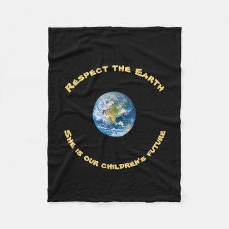 Cobertor De Velo Respeite nossa cobertura do velo da terra do