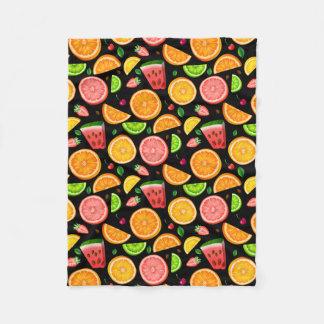 Cobertor De Velo Rico da fruta
