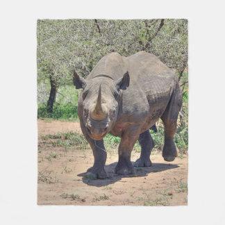 Cobertor De Velo rinoceronte