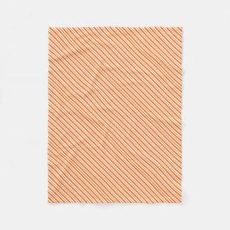 Cobertor De Velo Riscas verticais alaranjadas