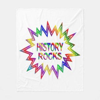 Cobertor De Velo Rochas da história